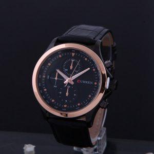 Luxusné pánske hodinky Curren v čiernej farbe