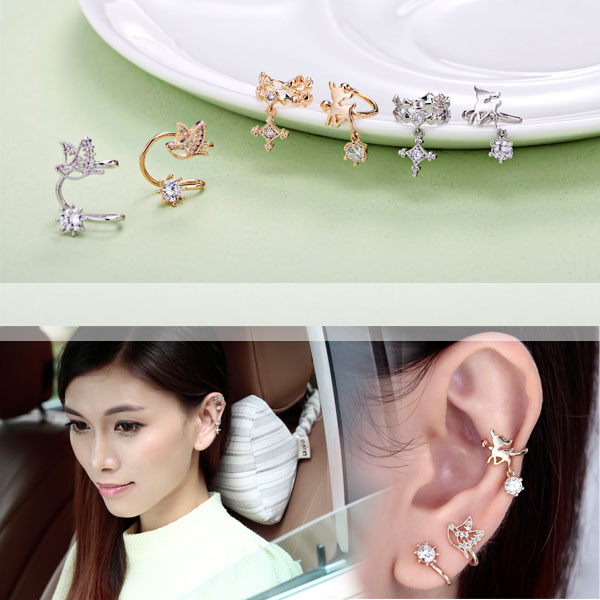 Ušný piercing ponúka aplikovať nádherné a luxusné vzory náušníc do ucha