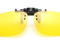 Špeciálny polarizovaný clip na okuliare na nočnú jazdu ... 4aab4f27c3d