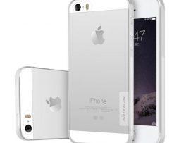NILLKIN 0.6mm silikónové púzdro pre iPhone 5 5S SE 2ea123b9583