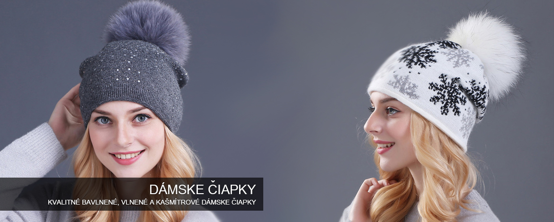 damske ciapky z bavlny a kasmiru