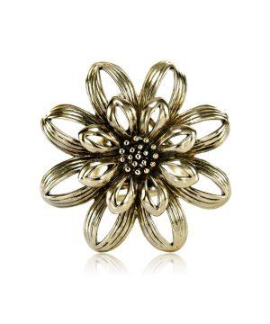 Prsteň na šatku - Kvetinový prstenec - www.mariejean.eu