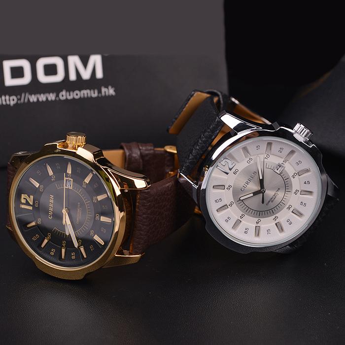 Luxusné pánske analógové hodinky Curren v striebornej farbe ... a854a977d30