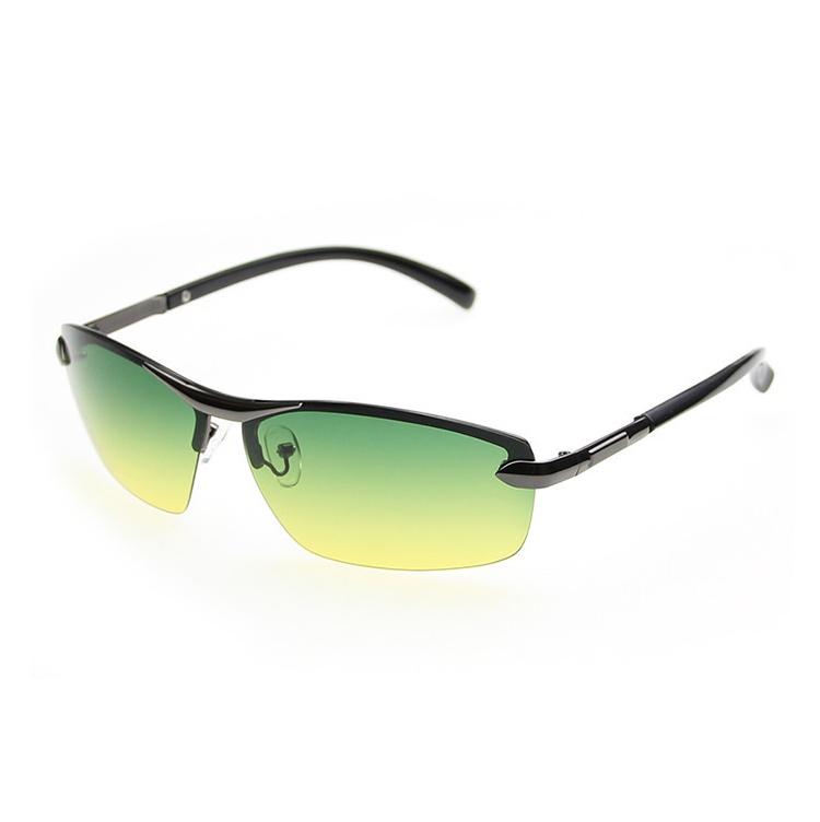Okuliare na nočné šoférovanie so strieborným rámikom  7e483c41bcd