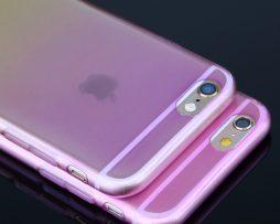 Luxusný transparentný silikónový obal na iPhone 6 vzor04 b90870b1c17