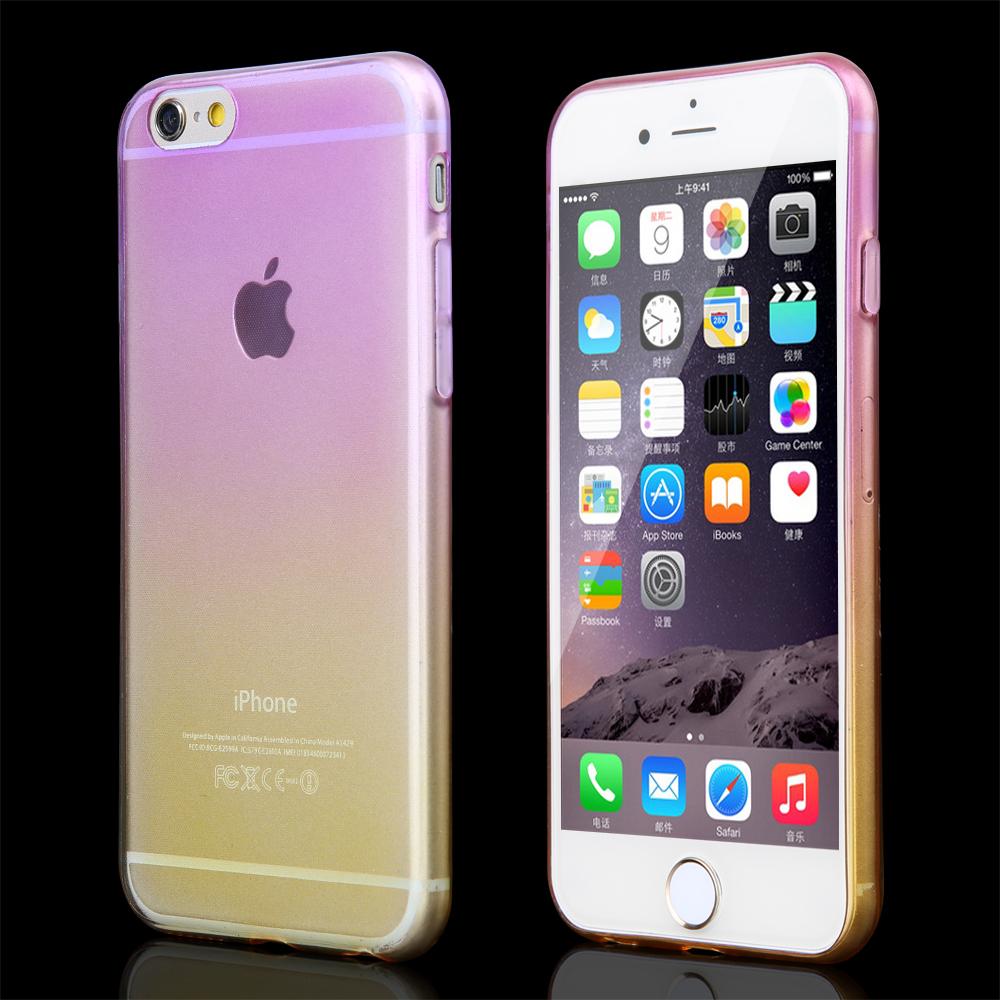 Luxusný transparentný silikónový obal na iPhone 6 vzor04  85bf09f5de5