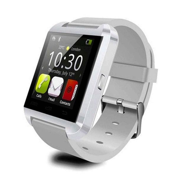 Moderné inteligentné hodinky v bielom prevedení  04e8d597f61