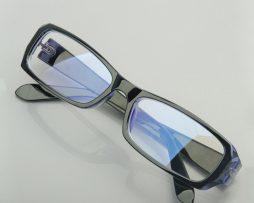 Okuliare na prácu s počítačom v modro-čiernej farbe 10567aabb79