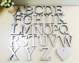Luxusné samolepiace písmena vhodné do firmy alebo domácnosti