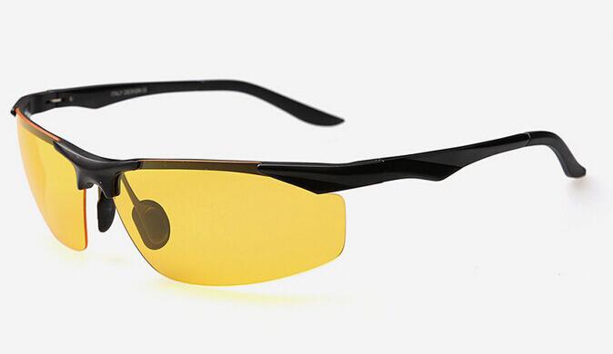 Moderné kvalitné okuliare pre šoférov s čiernym rámikom rámikom ... 4396ae5c7e8