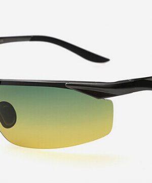 Moderné kvalitné okuliare pre šoférov s čiernym rámikom - tieňované