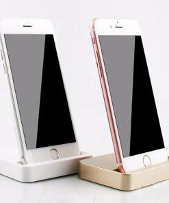 Luxusný stojan/nabíjačka na iPhone 5 / 5S / 5 iPod Touch 5, 6, 6plus, 6s, 6s plus