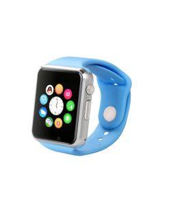 Elegantné SMART WATCH s mnohými funkciami v modrej farbe