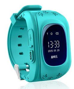3dbca8e8e GPS inteligentné hodinky so sledovacím zariadením a SOS pre deti ...