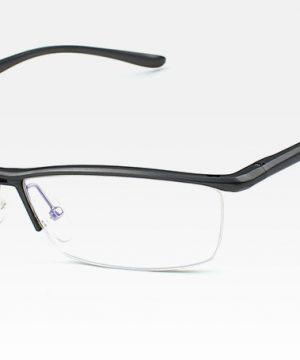 Štýlové okuliare na prácu pri počítači v sivej farbe