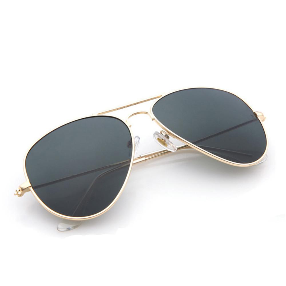 d9566ec51 Polarizované unisex slnečné okuliare - pilotky zlaté