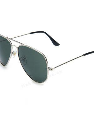 Polarizované slnečné okuliare - pilotky strieborné