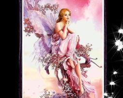 Diamantový obraz s motívom víly