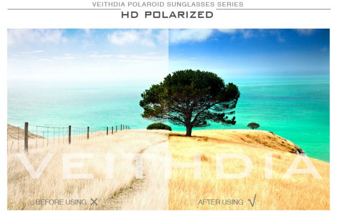 Polarizované unisex slnečné okuliare - pilotky