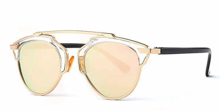 0d28b0839 Štýlové polarizované slnečné okuliare – zlato-žlté | Luxusné a módne ...