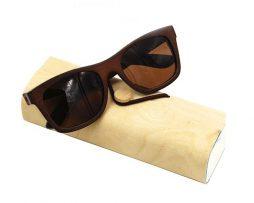 Ekologické bambusové polarizačné okuliare - model12