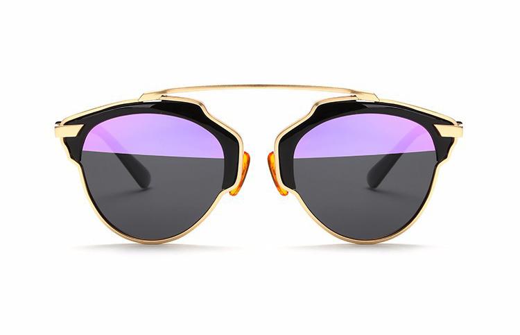 4358bd3d2 Štýlové polarizované slnečné okuliare – zlato-čierne | Luxusné a ...