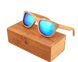 Ekologické bambusové polarizačné okuliare - model03