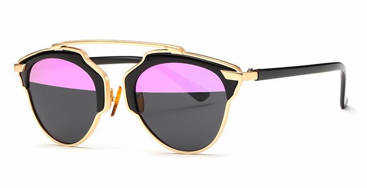 6c09a9192 Štýlové polarizované slnečné okuliare – zlato-čierne | Luxusné a ...
