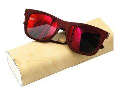 Ekologické bambusové polarizačné okuliare - model07