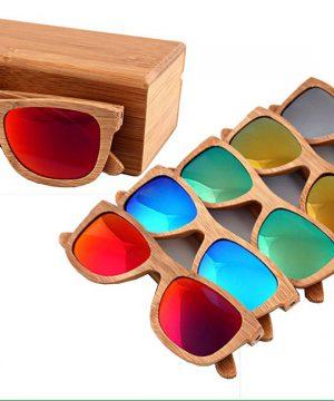 Ekologické bambusové polarizačné okuliare - model01