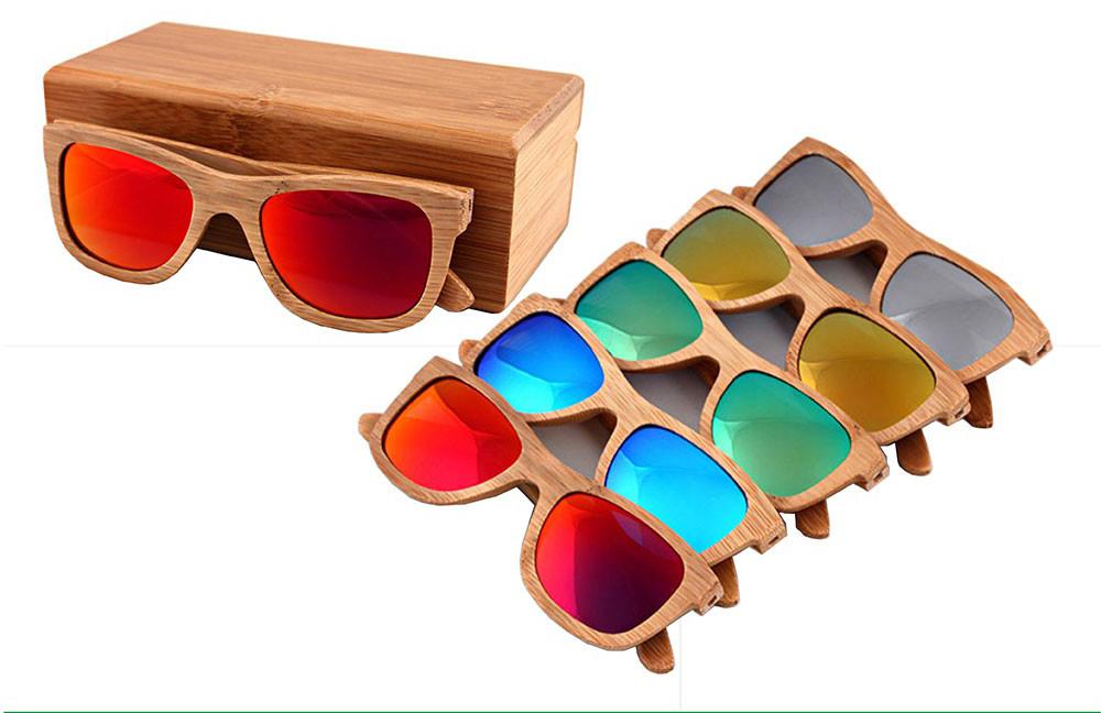 Ekologické bambusové polarizačné okuliare – model02  000f093a5fb