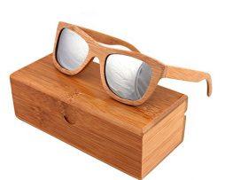 Ekologické bambusové polarizačné okuliare - model02