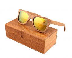 Ekologické bambusové polarizačné okuliare - model04