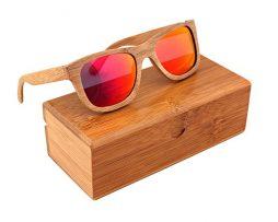 Ekologické bambusové polarizačné okuliare - model05