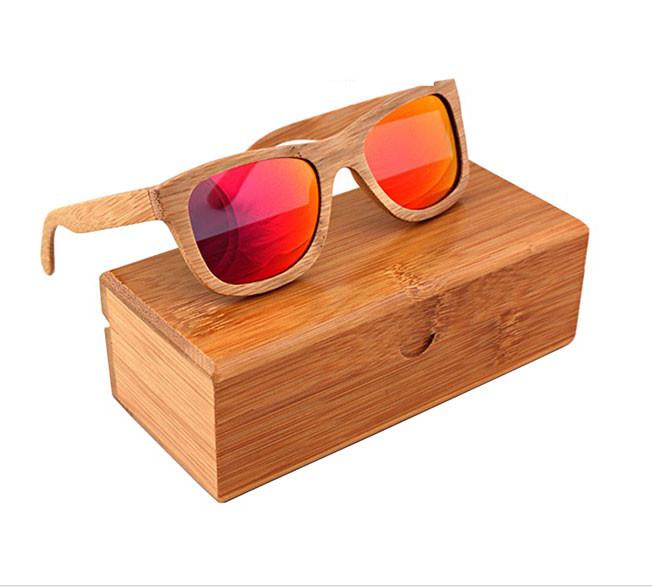 Ekologické bambusové polarizačné okuliare – model05  bf24ebd6354
