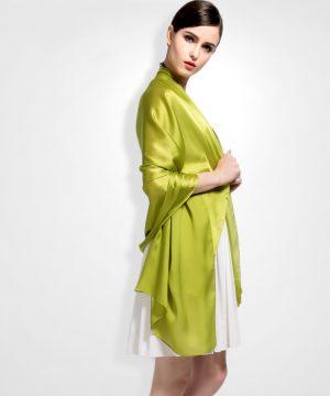 Hodvábny šál zo 100% hodvábu vo viac farbách 180 x 90 cm