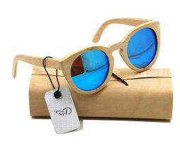 Ekologické bambusové polarizačné okuliare - model11