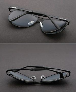 09508249c Polarizované slnečné okuliare - pilotky - damske i pánske