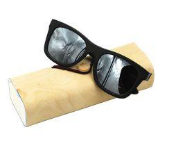 Ekologické bambusové polarizačné okuliare - model09