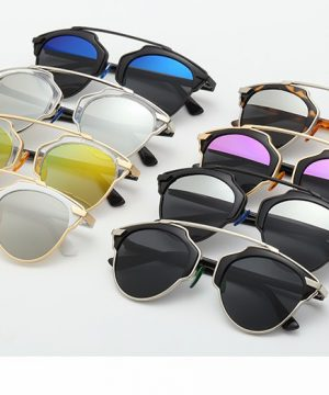 496f12469 Štýlové polarizované slnečné okuliare - zlato-biele · Luxusné a ...