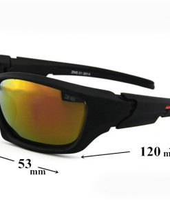 023f6087a Športové unisex polarizované okuliare - tmavo červené · Luxusné a ...