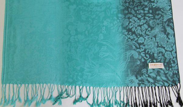 Ručne tkaný šál z hodvábu a kašmíru - vzor 10