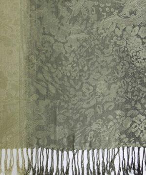 Ručne tkaný šál z hodvábu a kašmíru - vzor 13