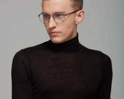 Kvalitné vintage retro okuliare na prácu s počítačom