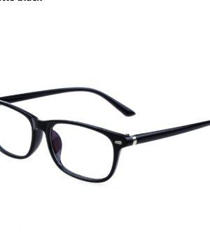 Okuliare na prácu s počítačom v matnej čiernej farbe