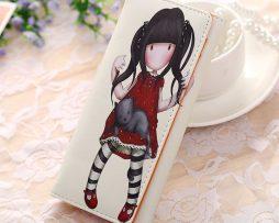 Peňaženka z kolekcie Cartoon - Girl in red dress