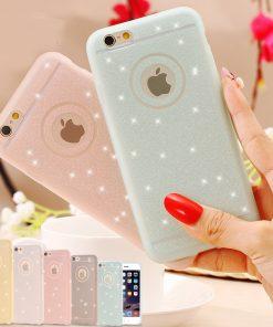 Kvalitný silikónový obal na iPhone 6plus/6Splus - white pearl