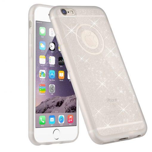Kvalitný silikónový obal na iPhone 6plus/6SpKvalitný silikónový obal na iPhone 6plus/6Splus - white pearllus - white pearl