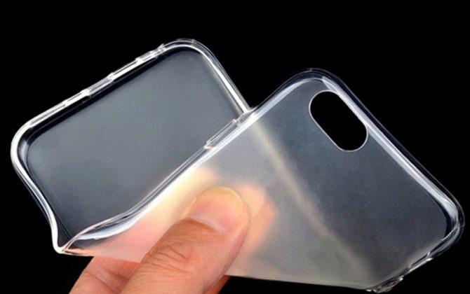 Kvalitný transparentný silikónový obal na iPhone 6/6S - les