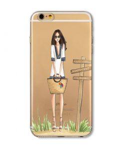 Kvalitný transparentný silikónový obal na iPhone 6/6S - beauty02
